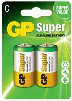 Аккумуляторная батарейка GP Super Alkaline 2xC