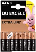 Аккумуляторная батарейка Duracell 8xAAA MN2400
