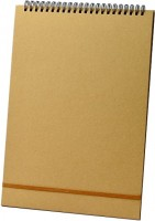 Блокнот MIVACACH Plain Notebook Caramel A5
