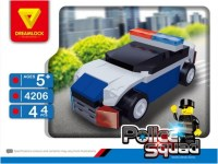 Конструктор Dreamlock Police Squad 4206