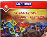 Фото - Конструктор Magnikon 66 Pieces MK-66