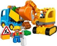 Фото - Конструктор Lego Truck and Tracked Excavator 10812