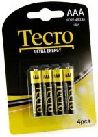 Аккумуляторная батарейка Tecro Ultra Energy 4xAAA
