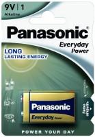 Аккумуляторная батарейка Panasonic Everyday Power 1xKrona