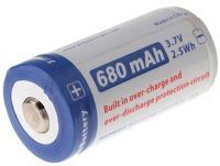 Аккумуляторная батарейка JETBeam 1xCR123 680 mAh