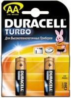 Аккумуляторная батарейка Duracell 2xAA Turbo MN1500