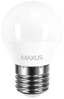 Лампочка Maxus 1-LED-5410 G45 F 4W 4100K E27