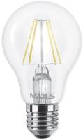 Лампочка Maxus 1-LED-565 A60 FM 8W 3000K E27
