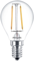 Фото - Лампочка Philips LED Filament P45 2.3W 2700K E14