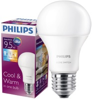 Лампочка Philips LED Scene Switch A60 9.5W 3000K/6500K E27