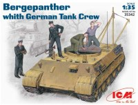 Фото - Сборная модель ICM Bergepanther (1:35)