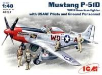Фото - Сборная модель ICM Mustang P-51D (1:48)