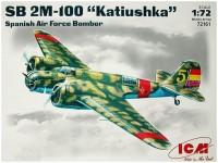 Сборная модель ICM SB 2M-100 Katiushka (1:72)