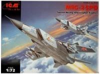 Фото - Сборная модель ICM Mig-25PD (1:72)