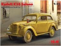Фото - Сборная модель ICM Kadett K38 Saloon (1:35)