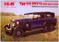 Сборная модель ICM Typ G4 (W31) with open cover (1:35)