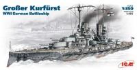 Фото - Сборная модель ICM Grober Kurfurst (1:350)