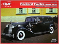 Фото - Сборная модель ICM Packard Twelve (Model 1936) (1:35)