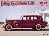 Сборная модель ICM Packard Twelve (Series 1408) (1:35)