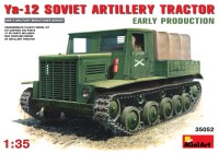 Сборная модель MiniArt Ya-12 Soviet Artillery Tractor (Early) (1:35)
