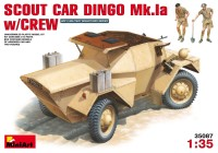 Сборная модель MiniArt Scout Car Dingo Mk.1a w/Crew (1:35)
