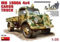 Сборная модель MiniArt MB 1500A 4x4 Cargo Truck (1:35)