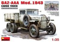 Сборная модель MiniArt GAZ-AAA Mod. 1943 Cargo Truck (1:35)