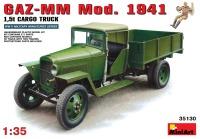 Фото - Сборная модель MiniArt GAZ-MM  Mod. 1941 Cargo Truck (1:35)