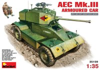 Сборная модель MiniArt AEC Mk.III Armoured Car (1:35)