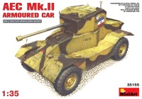 Сборная модель MiniArt AEC Mk.II Armoured Car (1:35)