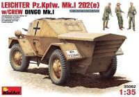Фото - Сборная модель MiniArt Leichter Pz.Kpfw. Mk.I 202(e) w/Crew (1:35)