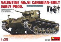 Сборная модель MiniArt Valentine Mk.VI Canadian-Built Early Prod. (1:35)