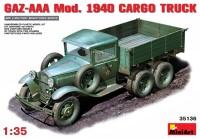 Сборная модель MiniArt GAZ-AAA Mod. 1940 Cargo Truck (1:35)