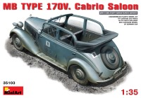 Сборная модель MiniArt MB TYPE 170V Cabrio Saloon (1:35)
