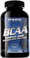 Фото - Аминокислоты Dymatize Nutrition BCAA Complex 2200 400 cap