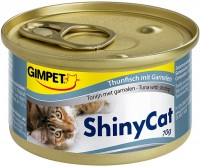Корм для кошек Gimpet Adult Shiny Cat Tuna/Shrimps 0.07 kg