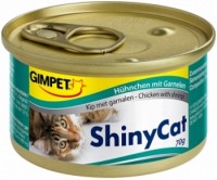 Фото - Корм для кошек Gimpet Adult Shiny Cat Chicken/Shrimps 0.07 kg