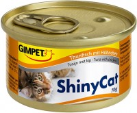 Фото - Корм для кошек Gimpet Adult Shiny Cat Chicken/Tuna 0.07 kg