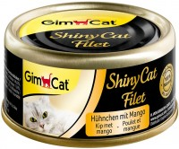 Корм для кошек Gimpet Adult Shiny Cat Filet Chicken/Mango 0.07 kg