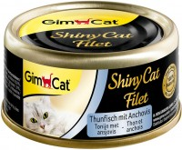 Корм для кошек Gimpet Adult Shiny Cat Filet Tuna/Anchovy 0.07 kg