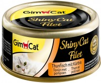 Корм для кошек Gimpet Adult Shiny Cat Filet Tuna/Pumpkin 0.07 kg