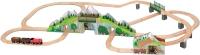 Автотрек / железная дорога Melissa&Doug Mountain Tunnel Train Set