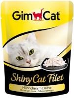 Фото - Корм для кошек Gimpet Adult Shiny Cat Filet Chicken/Cheese 0.07 kg