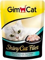 Корм для кошек Gimpet Adult Shiny Cat Filet Tuna/Shrimps 0.07 kg