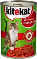 Фото - Корм для кошек Kitekat Adult Canned with Beef 0.4 kg