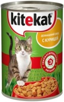 Фото - Корм для кошек Kitekat Adult Canned with Chicken 0.4 kg