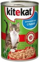 Фото - Корм для кошек Kitekat Adult Canned with Fish 0.4 kg