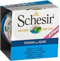 Фото - Корм для кошек Schesir Kitten Canned Tuna/Aloe 0.085 kg