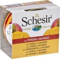 Корм для кошек Schesir Adult Canned Tuna/Mango 0.075 kg