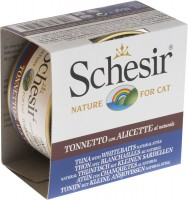Фото - Корм для кошек Schesir Adult Canned Tuna/Anchovy 0.085 kg